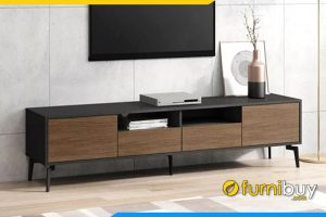 Hình ảnh Mẫu kệ tivi gỗ MDF phong cách Hàn Quốc FBK1020