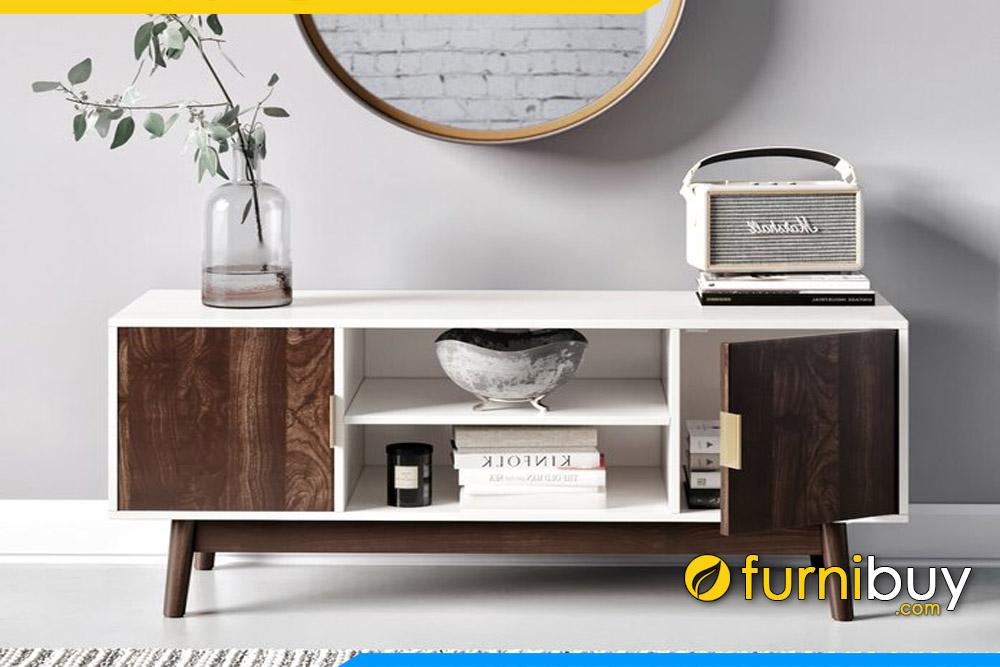 Hình ảnh Mẫu kệ tivi gỗ mdf phòng khách dưới 5 triệu FBK1010