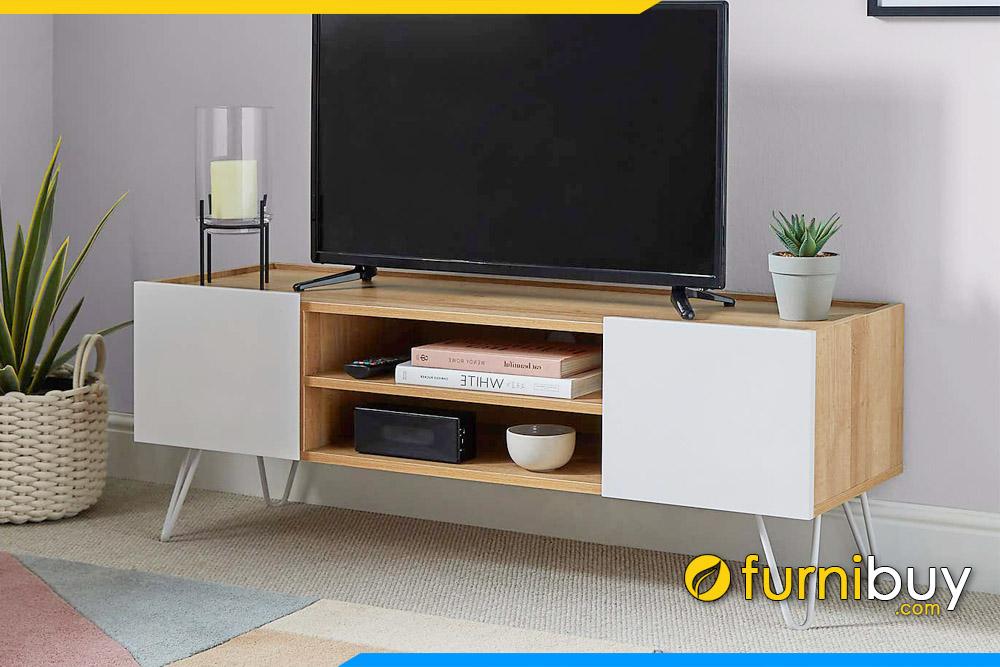 Ảnh Mẫu kệ tivi gỗ mdf phòng khách nhỏ FBK1026