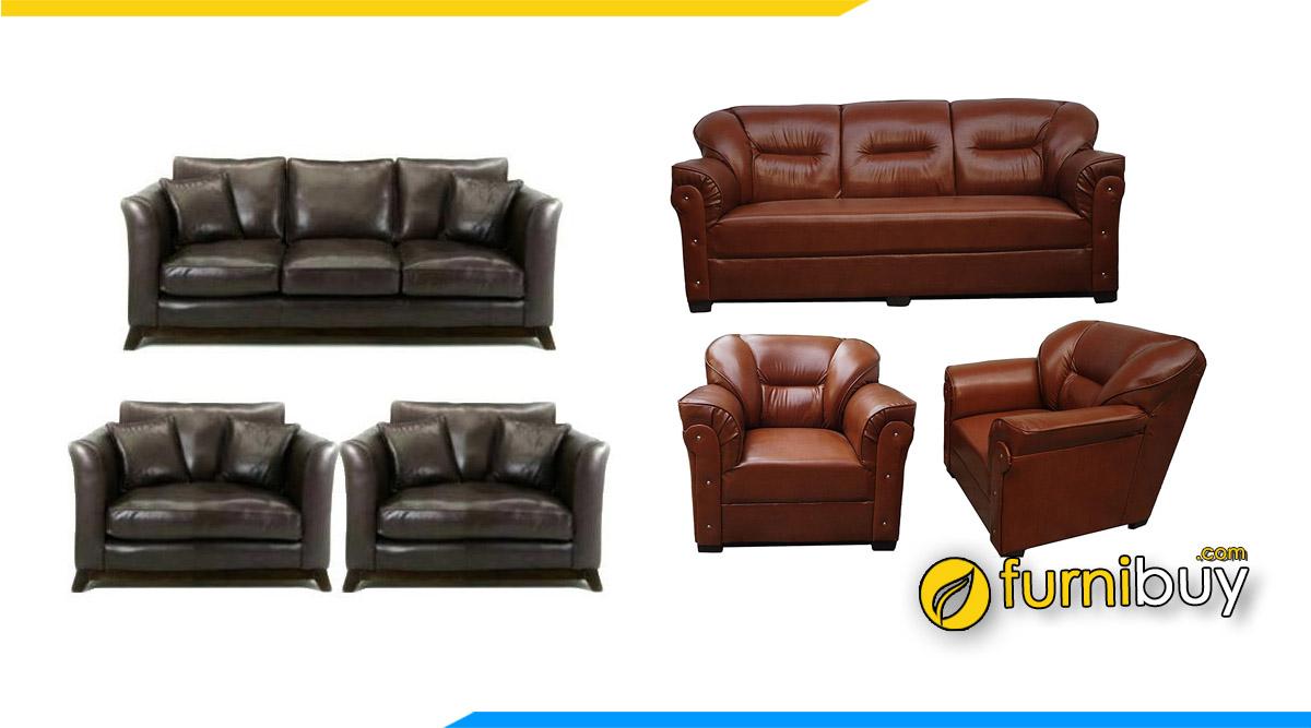 Sofa da văn phòng nên mua không? tư vấn từ furnibuy