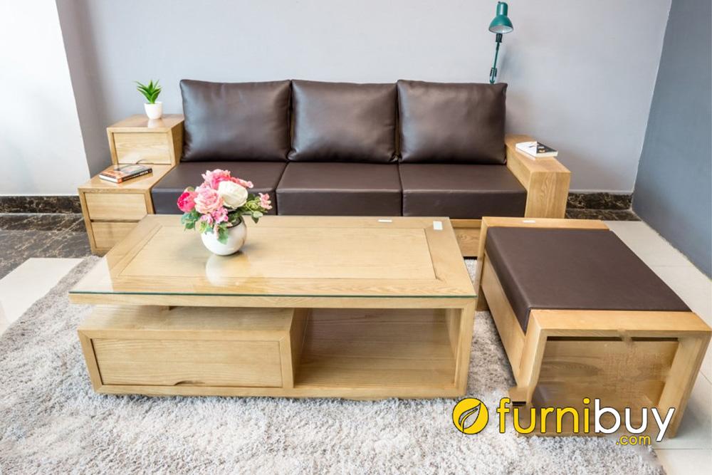 sofa go soi gia re pho thong