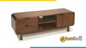 Furnibuy chọn lọc top #10 mẫu kệ tivi gỗ hiện đại được ưa chuộng