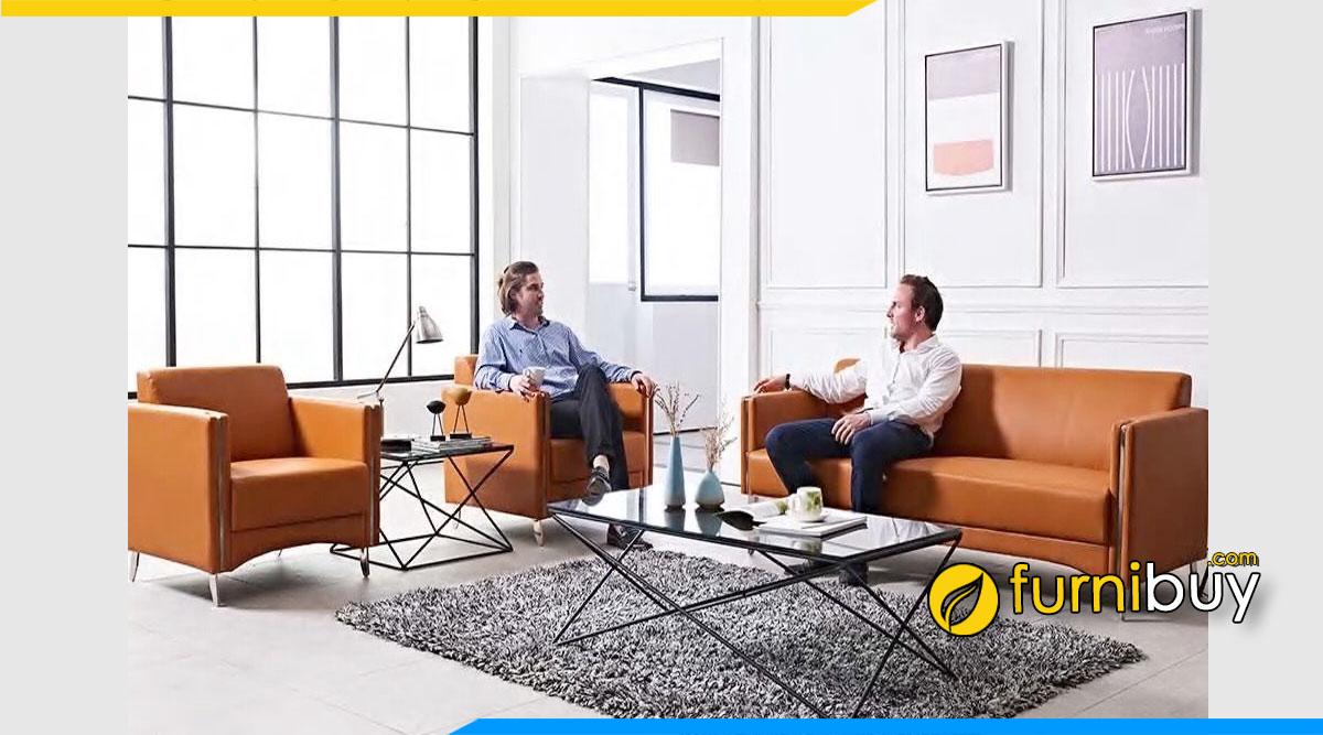 Top các mẫu sofa văn phòng giá rẻ dưới 15 triệu đáng mua năm nay