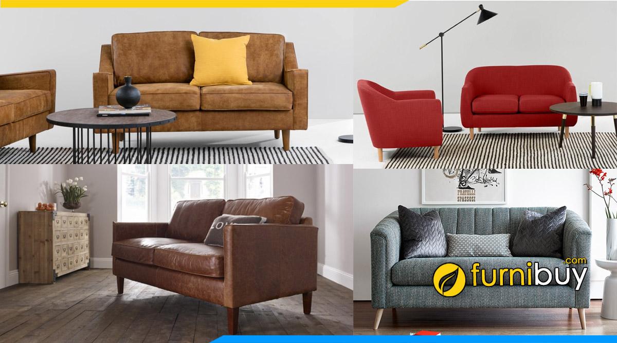 Các mẫu sofa phòng giám đốc nhỏ gọn mini đặt làm theo yêu cầu furnibuy