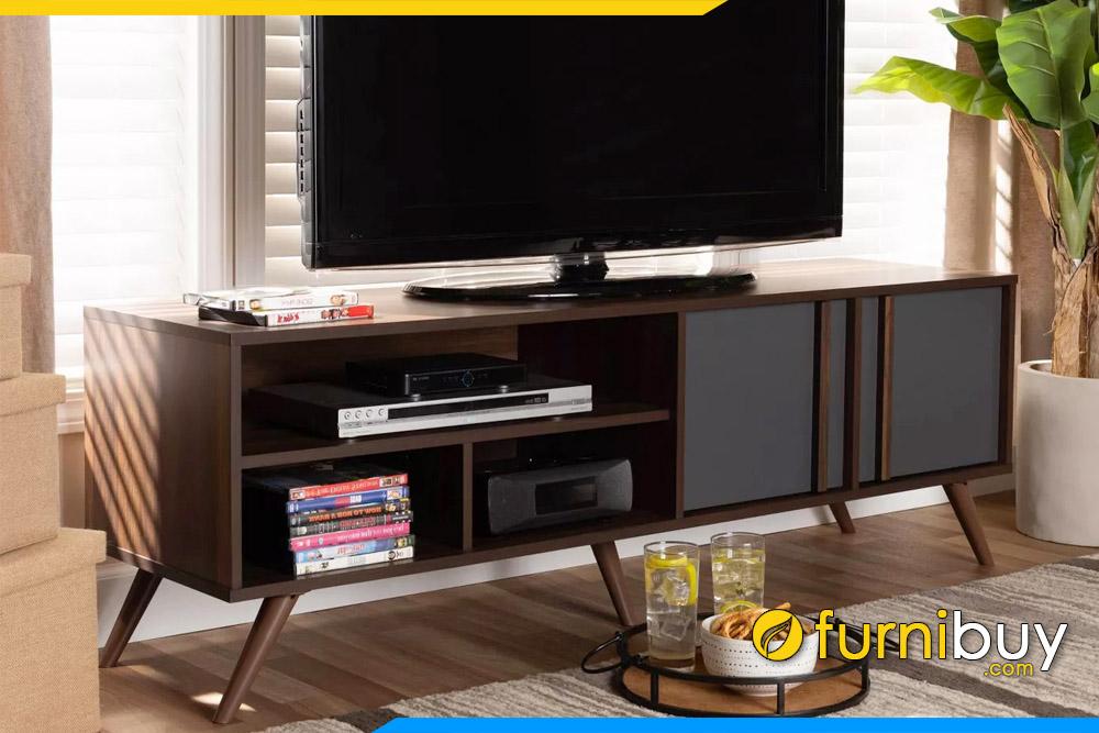 hình ảnh Kệ tivi gỗ công nghiệp kiểu hiện đại FBK1036