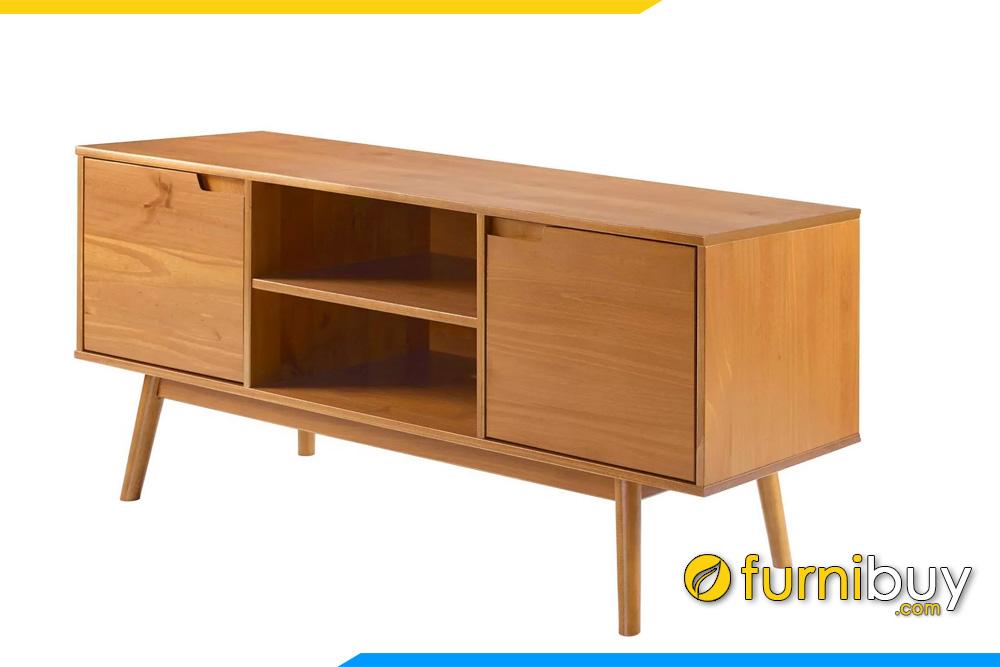 hình ảnh Mẫu kệ tivi gỗ sồi phòng ngủ cánh lật 1m8 FBK1033