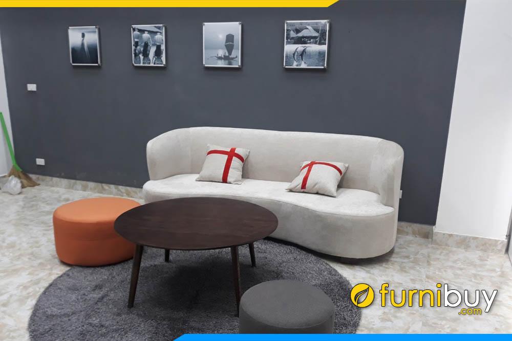 sofa phong khach dep dang vang chu c hien dai