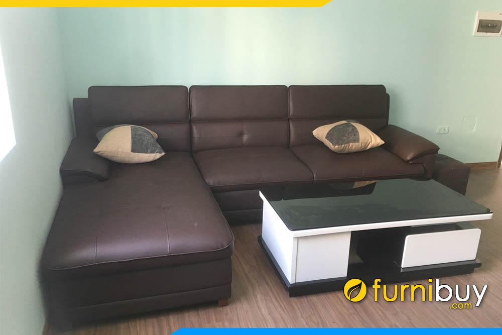 sofa phong khach nha pho dang goc chu l boc vien