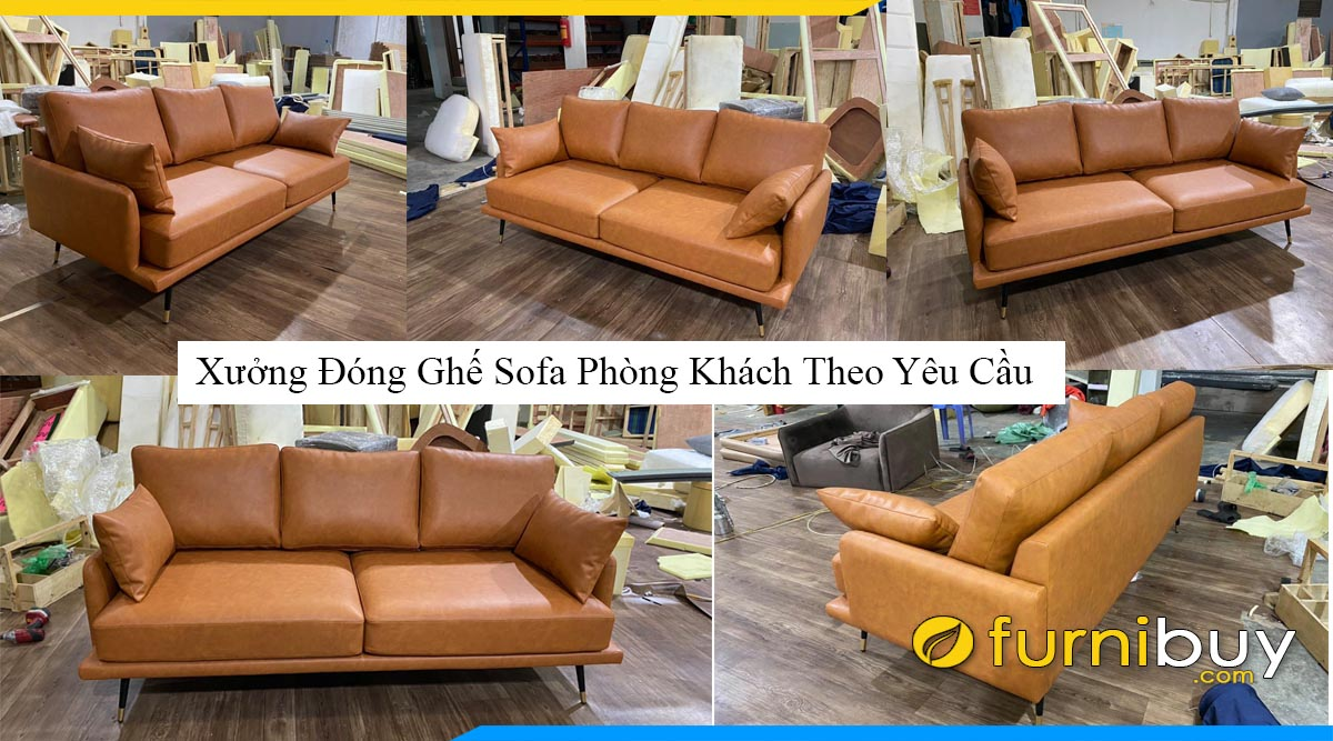xuong dong ghe sofa phong khach theo yeu cau