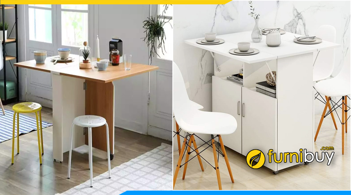 Cách chọn bàn ăn thông minh cho nhà nhỏ bởi Furnibuy