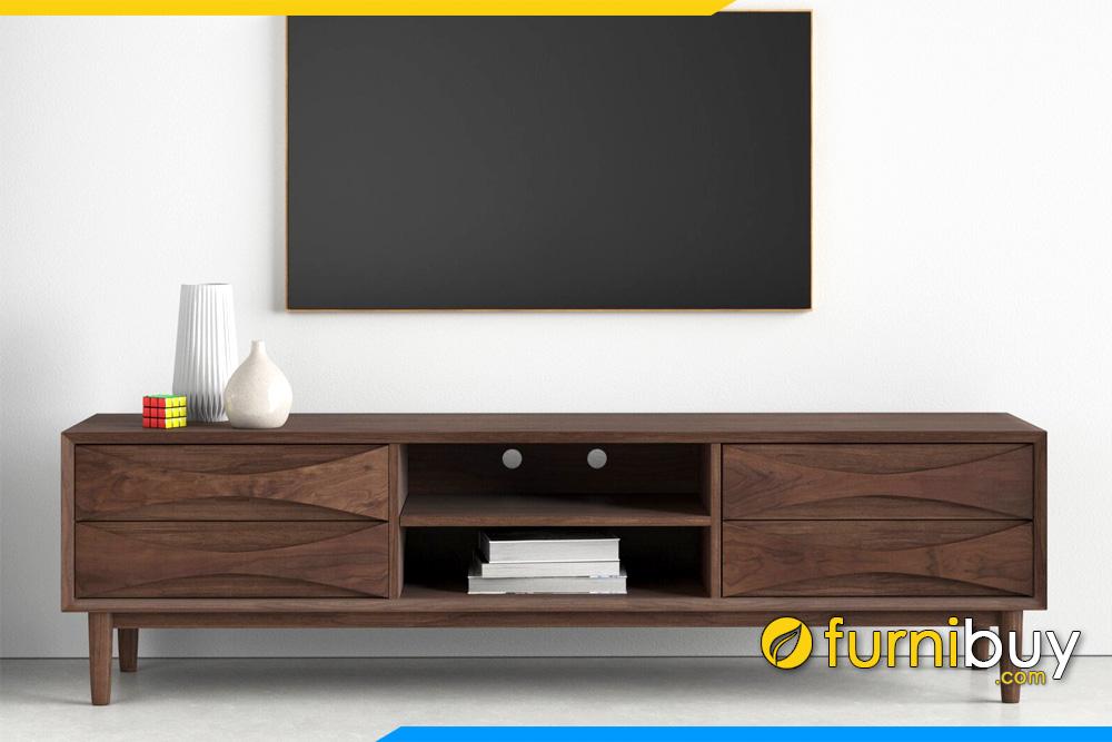 hình ảnh Kệ tivi đẹp Evenson FBK2005 gỗ hiện đại