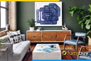 hình ảnh Kệ tivi đẹp Laurie phòng khách FBK2002 cho TV 60inch
