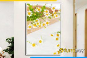 Tranh canvas phong khach dep cuc hoa mi