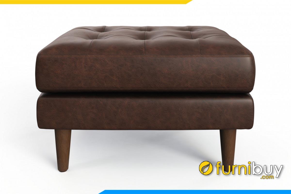 ghe don sofa da ke phong khach