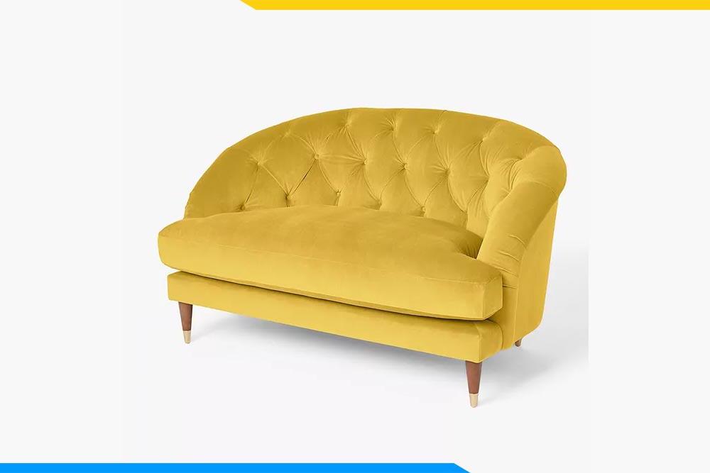 ghe sofa don cach tan ke phong khach boc ni