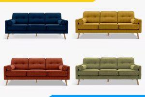 sofa phong khach dang vang boc ni nhieu mau