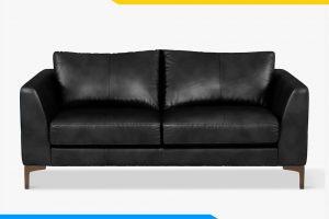 sofa phong khach don gian dang vang boc da mini