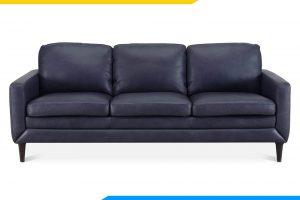 ghe sofa da phong khach dang vang mau den cao cap