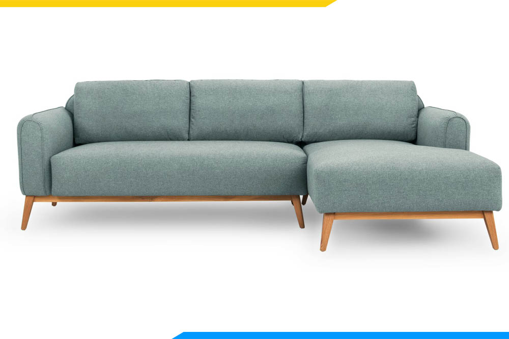 ghe sofa phong khach mau xanh mint