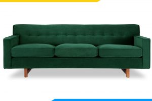 ghe sofa vang mau xanh reu 3 cho ngoi tay vin thap