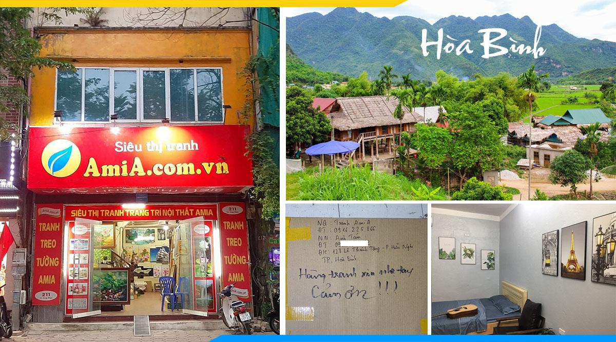 Mua tranh treo tuong o Hoa Binh dep gia re