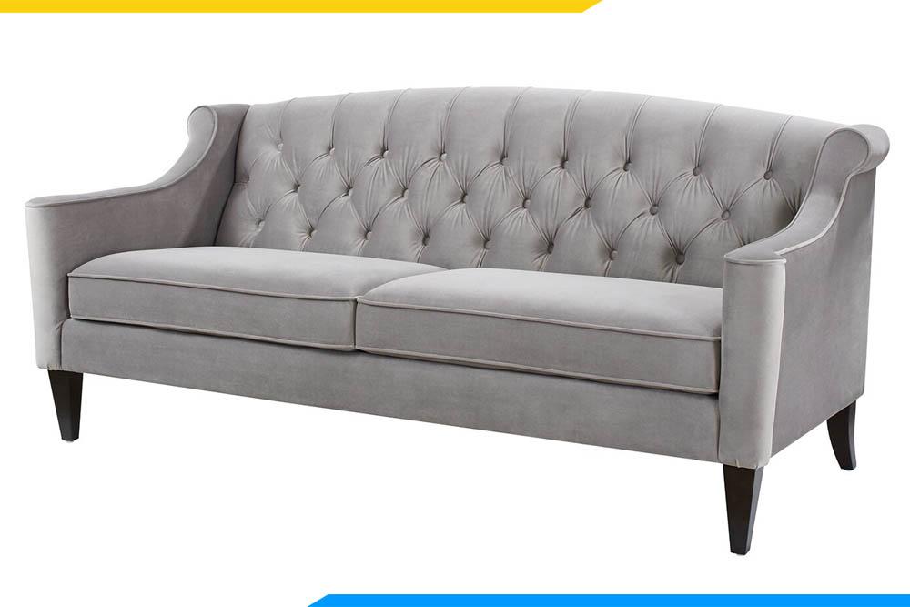 sofa vang ke phong khach dang cach tan
